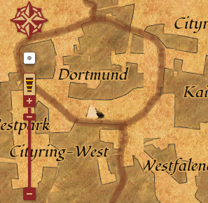 Dortmund treasuremap